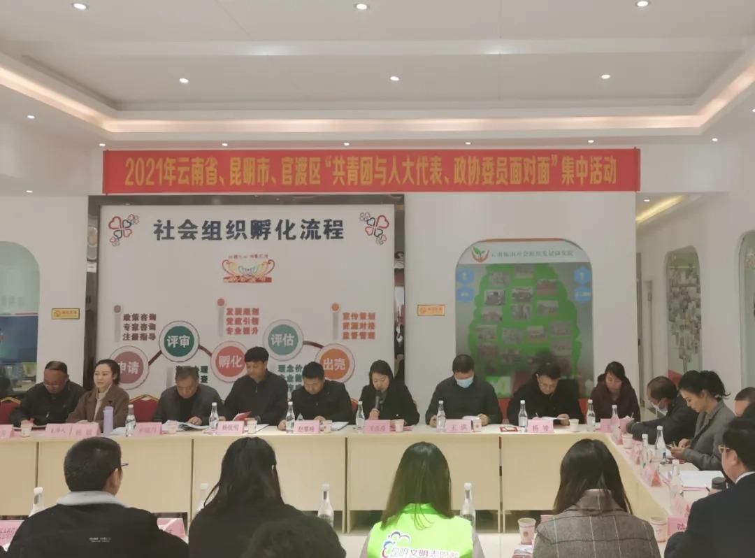 共青团与人大代表、政协委员面对面共推青年参与社区治理